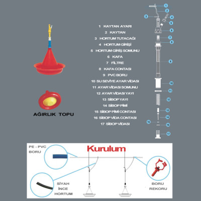 ASKILI OTOMATİK HİNDİ SULUK HND01 - Thumbnail